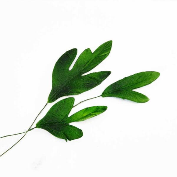 Cake Decorating Supplies - Icing Sugar Gumpate Edible Green Leaf Set for Cake Decorations New Zealand - Shop Online from The Rose Factory - NZ