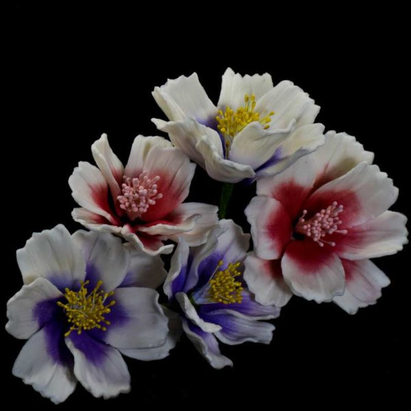 Cake Decoration Supplies New Zealand - Gumpaste Icing Sugar Crafts - Coreopsis Flower Bunch for Decorations Including Birthday & Wedding Cakes NZ