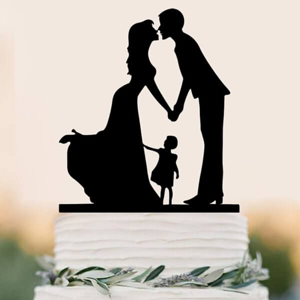 Wedding Decoration Cake Topper Mr & Mrs Acrylic Black Topper Bride Groom For Wedding Marriage Anniversary Party From Online Shop - The Rose Factory