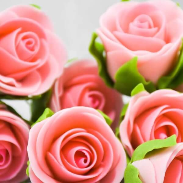 Cake Decoration Supplies Auckland New Zealand - Gumpaste Icing Sugar Crafts - Pink Roses For Any Type Of Cake Decoration
